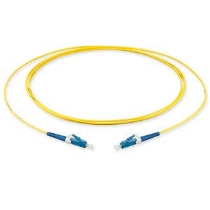 LC to LC Single Mode Simplex 3 Meter Fiber Optic Patch Cord
