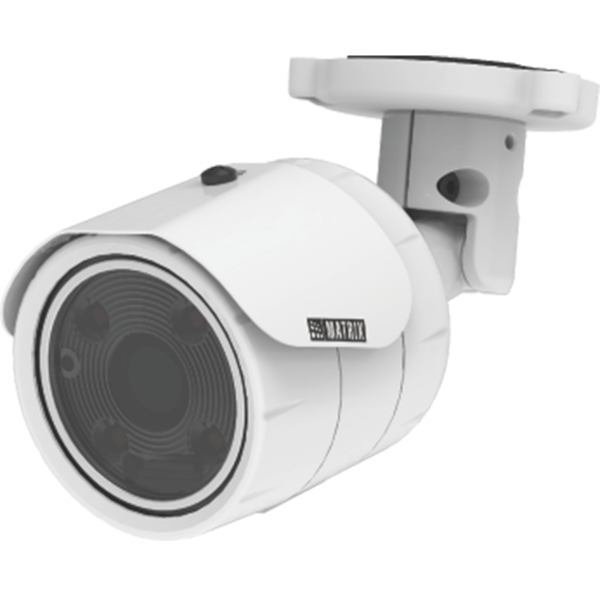 Matrix 2MP IP Bullet Metal Camera MIBR20FL60CWS (Lens: 6 MM)