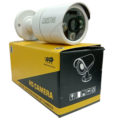 Zuumstar 2.4MP HD Color Night Vision Bullet Camera ZS-HD-B24CP