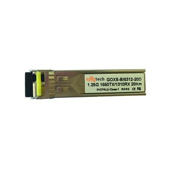Syrotech Single Mode 1.25Gbps SFP GOXS-BI5312-20D