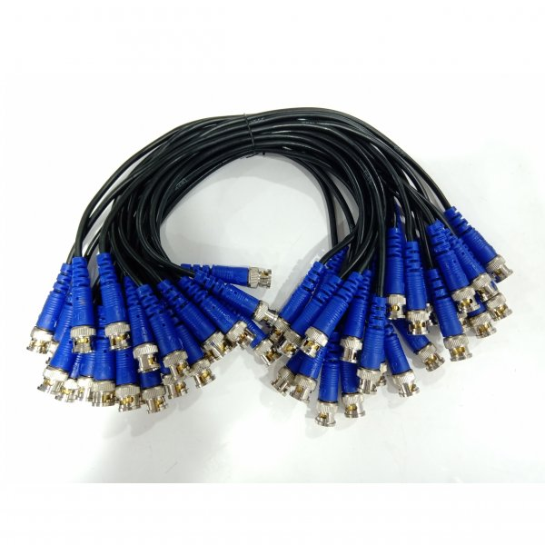 Wire BNC Blue (100 pcs)