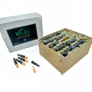 Velvu BNC Connector with Plastic Cap ST-BNC-PLASTIC (100 pcs)
