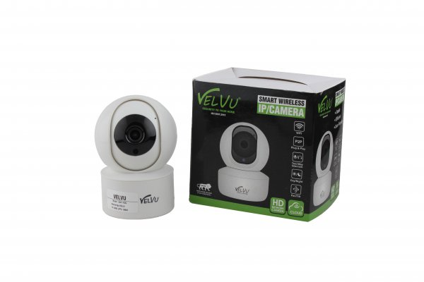 Velvu 2MP WiFi Pan-Tilt 360 Camera WIFI-HVG