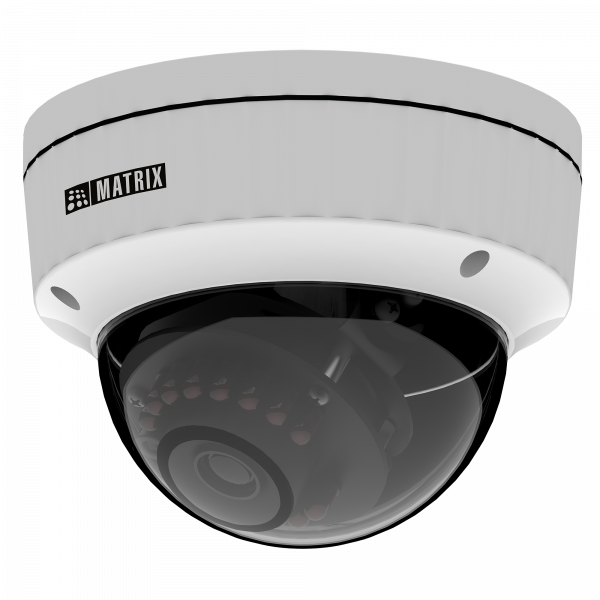 Matrix 2MP IP Dome Metal Camera MIDR20FL28CWS
