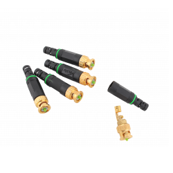 Velvu BNC Connector with Plastic Cap ST-BNC-PLASTIC