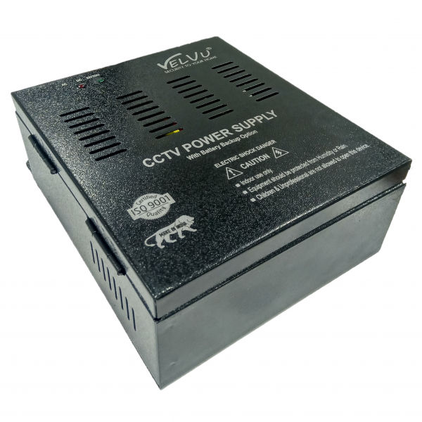 Velvu 8ch Battery Backup SMPS ( Without Battery ) ST-PS08B